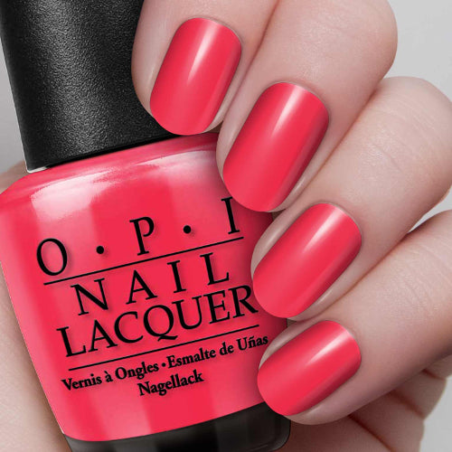 Nail Lacquer OPI Red 0.5 oz