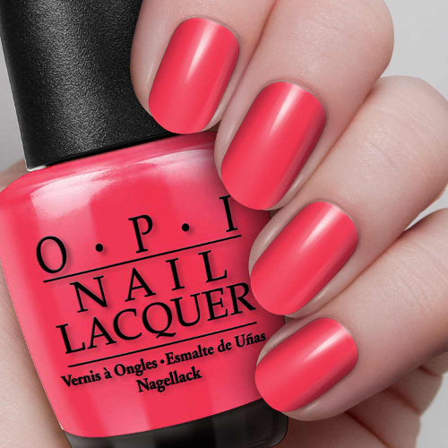 Nail Lacquer OPI on Collins Ave. 0.5 oz
