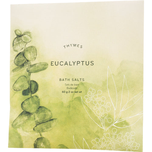 Eucalyptus Bath Salts 2 oz