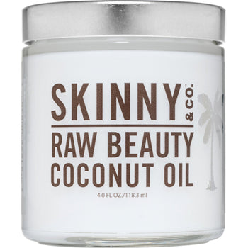 Raw Beauty Coconut Oil 4 oz