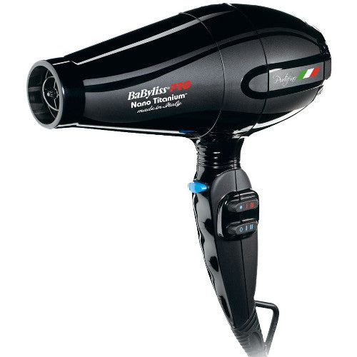 Nano Titanium Portofino Dryer Black