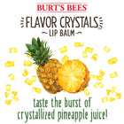 Flavor Crystals Lip Balm Tropical Pineapple 0.15 oz