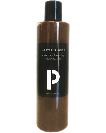 Latte Suede Color Enhancing Conditioner 10 oz