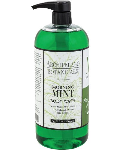 Morning Mint Body Wash Liter 33 oz