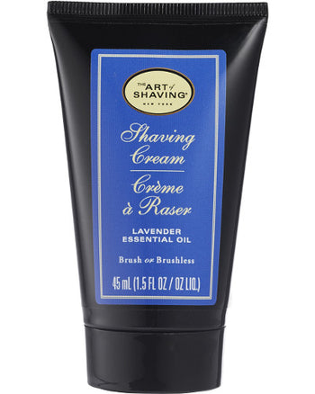 Lavender Shaving Cream Travel Size 1.5 oz