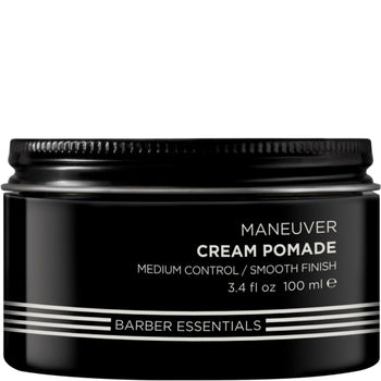 Brews Maneuver Cream Pomade 3.4 oz