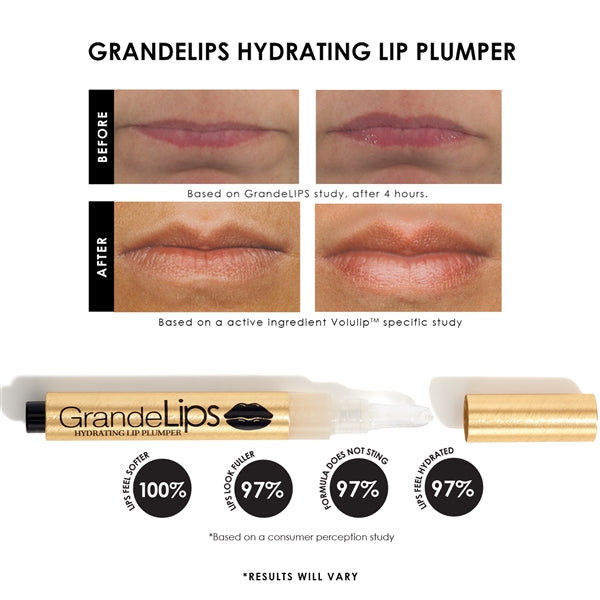 GrandeLIPS Hydrating Lip Plumper Lust Red 0.084 oz