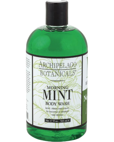 Morning Mint Body Wash 17 oz