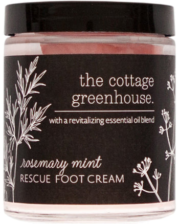 Rosemary Mint Rescue Foot Cream 6 oz