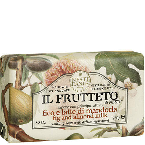 Il Frutteto Fig & Almond Milk Bar Soap 8.8 oz