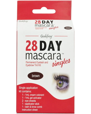 28 Day Mascara Brown Single Application