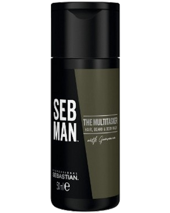THE MULTI-TASKER 3 in 1 Hair Beard and Body Wash 1 oz