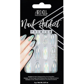 NAIL ADDICT PREMIUM ARTIFICIAL NAIL SET - HOLOGRAPHIC GLITTER