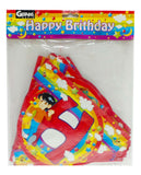 Gernas World Happy Birthday Flag Banner