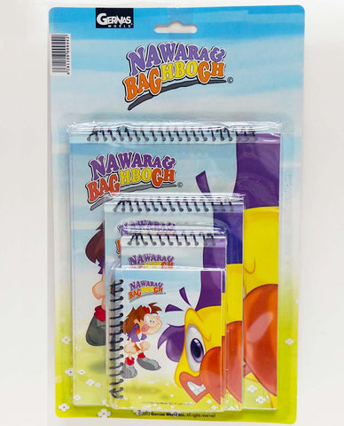 Nawara & Baghbogh Notebook Normal Cover Package (A)
