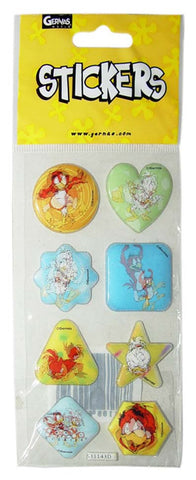 Shahien & Teeta 2D Puffy Sticker