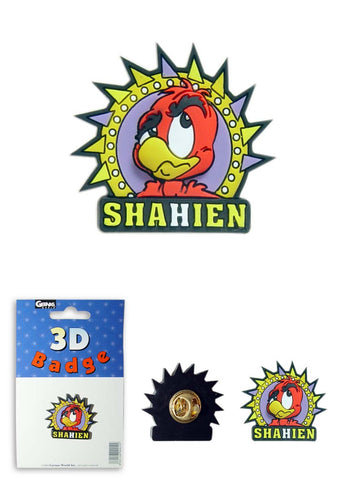 Shahien Badge (PVC)