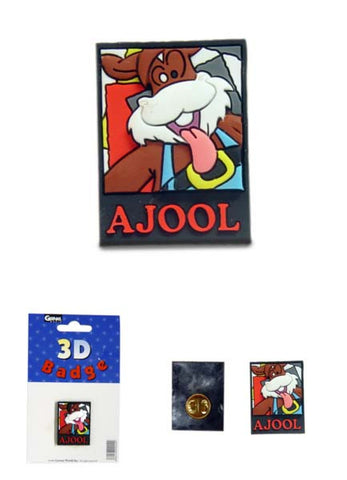 Ajool Badge (PVC)