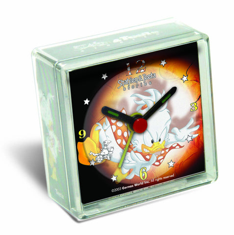 Teeta Box Clock in Square