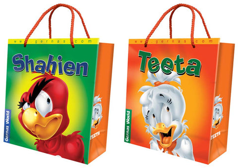 Shahien & Teeta Large Paper Bag