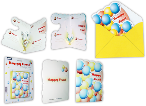 Teeta 3D Invitation Card Set