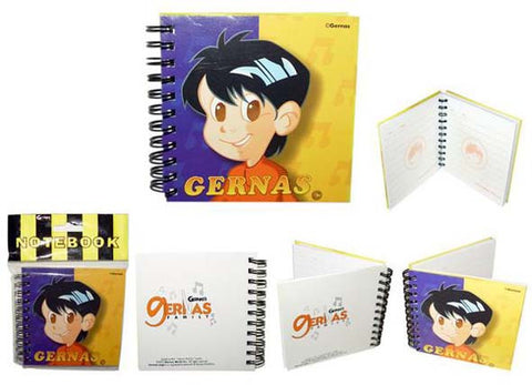 Gernas Notebook Hard Cover (10x10)
