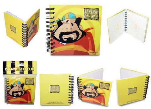 Dahshan Notebook Hard Cover (10x10)