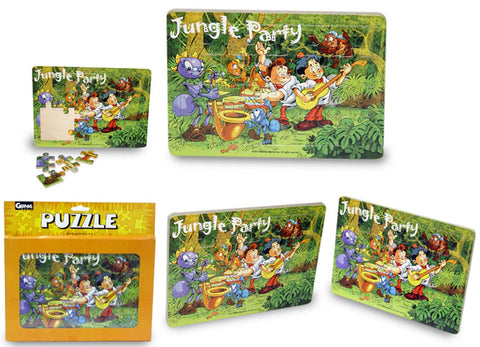 Namla Family Wood Puzzle