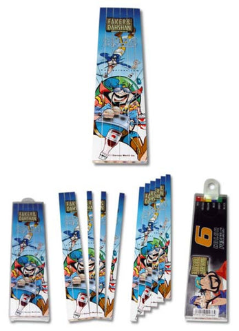 Faker & Dahshan Puzzle Coloring Pencil 6 Units