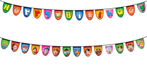 Happy Birthday Flag Banner