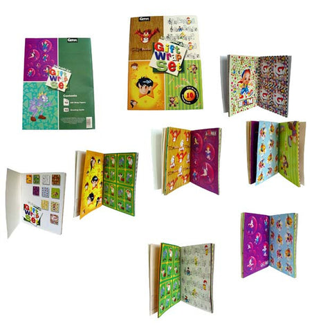 Gernas World Gift Wrapping Paper