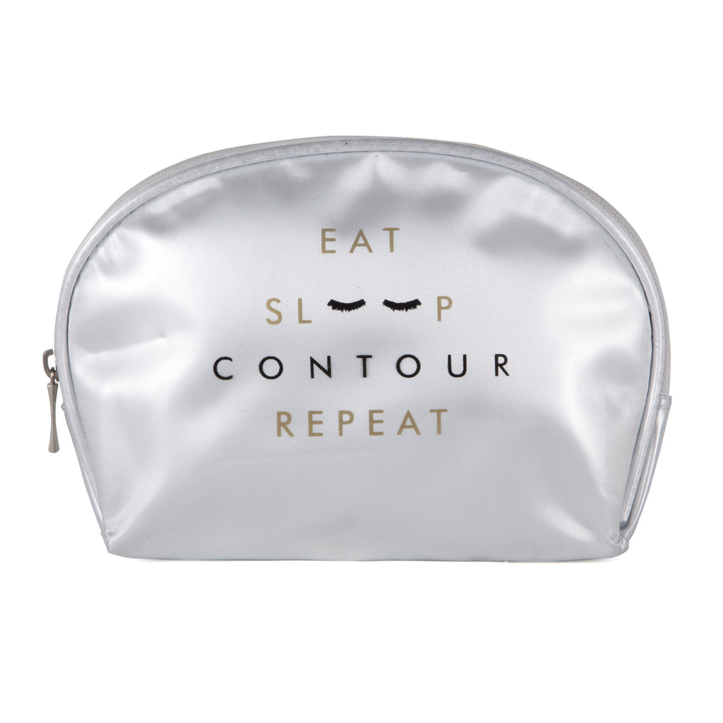 COSMETIC BAG: EAT, SLEEP, CONTOUR, REPEAT