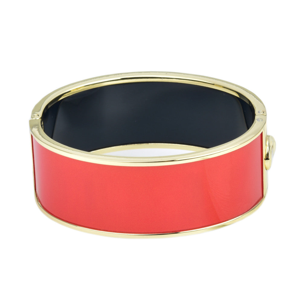 Plain Color Hinged Bangle