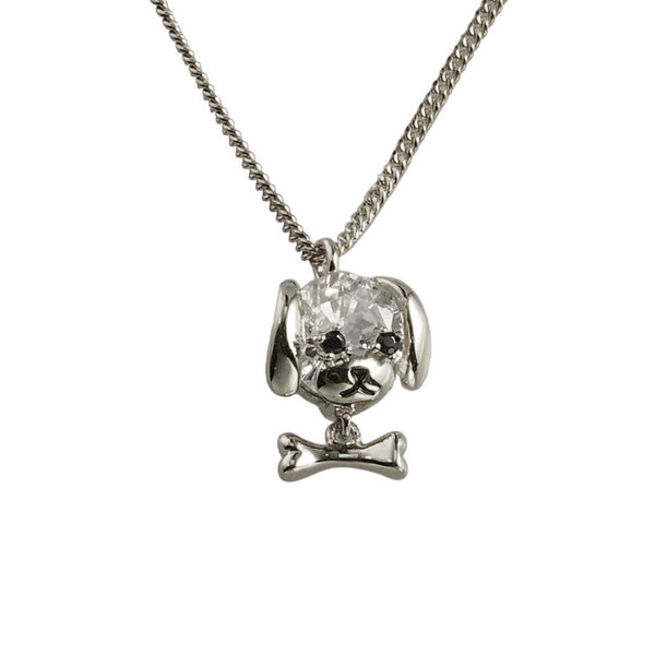 925 Sterling Silver- Puppy Necklace