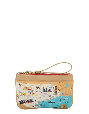 Spartina Texas Zip Wristlet
