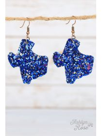 Glitter Texas Earrings