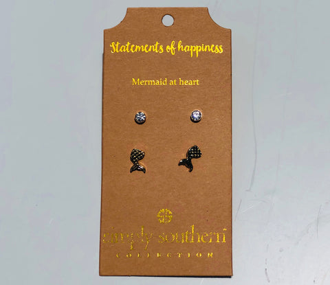SIMPLY SOUTHERN STATEMENTS OF HAPPINESS EARRINGS