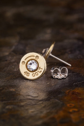 45 Colt Brass BulletDesigns Earring