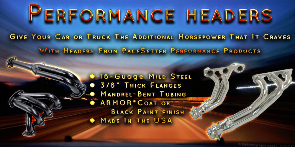 Performance Headers, Exhaust Systems