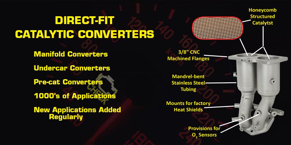Direct-fit Catalytic Converters, Pacesetter, Bosal