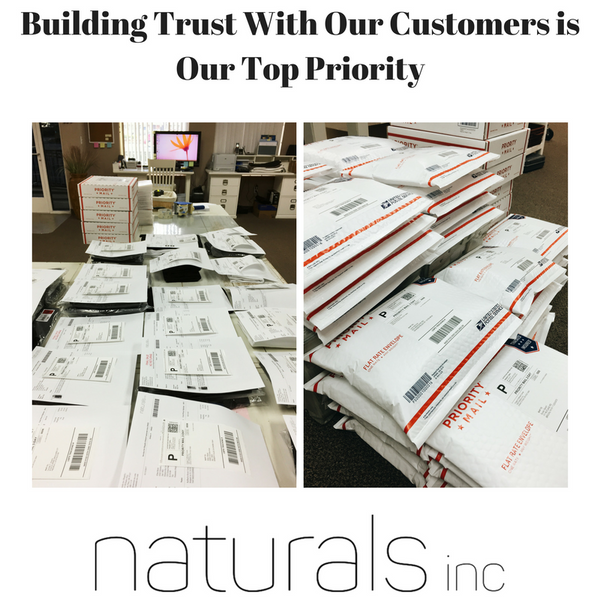 Building Trust With Our Customers is Our Top Priority