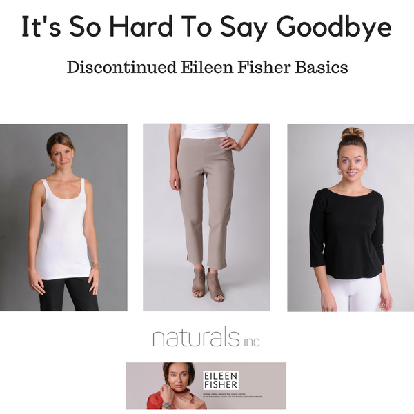 Discontinued Eileen Fisher Basics