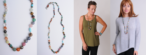 Chan Luu Multi Mix Layering Necklace