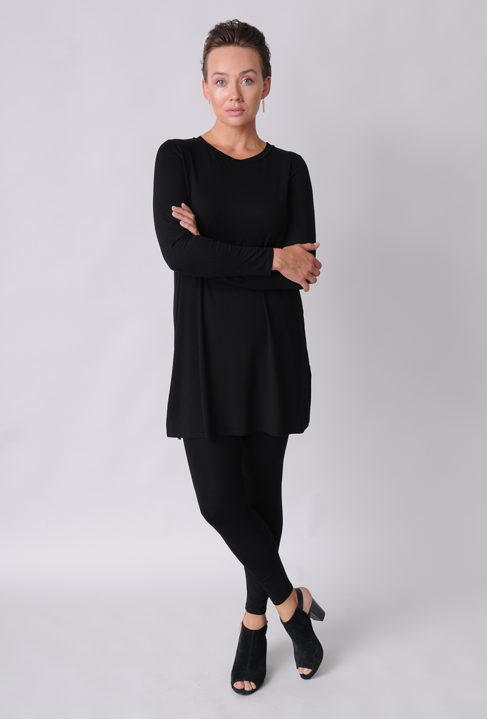 b8359bc66542 EILEEN FISHER Ankle Leggings in Viscose Jersey – Naturals Inc