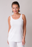 Eileen Fisher Lightweight Viscose Jersey System Long Tank