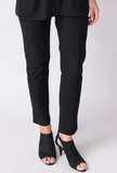 Eileen Fisher System Washable Stretch Crepe Slim Ankle System Pant