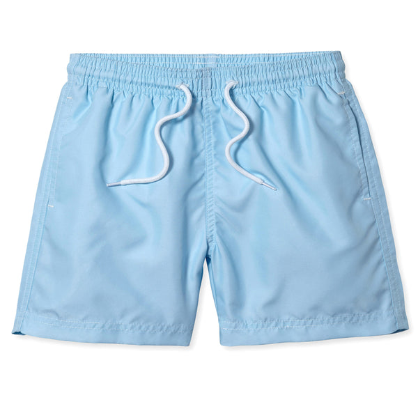 Light Blue Swim Trunks