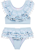 Baby Blue Bikini for Beach Babes