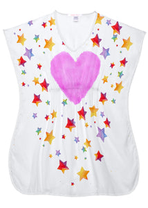 Star Cloud Beach Cover-Up for Girls