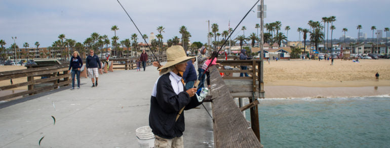 Top Fishing Piers in California